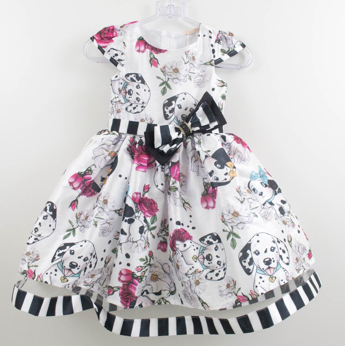 7aefbb8ad Vestido Festa Petit Cherie Estampa Dalmatas - Xuá Kids