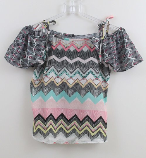 Blusa Authoria Compose Chevron Geometric