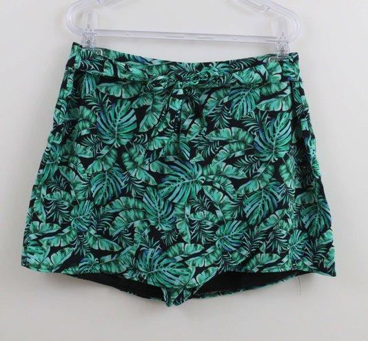 Shorts Saia Authoria  Folhagem Verde