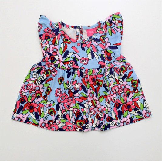 Bata Momi Mini Cotton Floral Mosaico