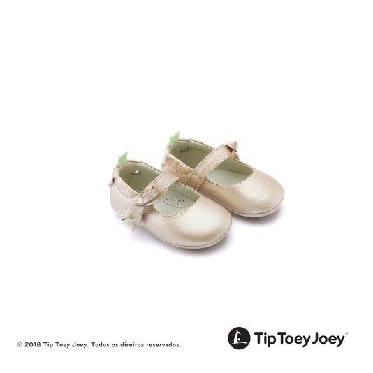 Sapatilha Baby Dorothy Fine Gold Tip Toey Joey Originals