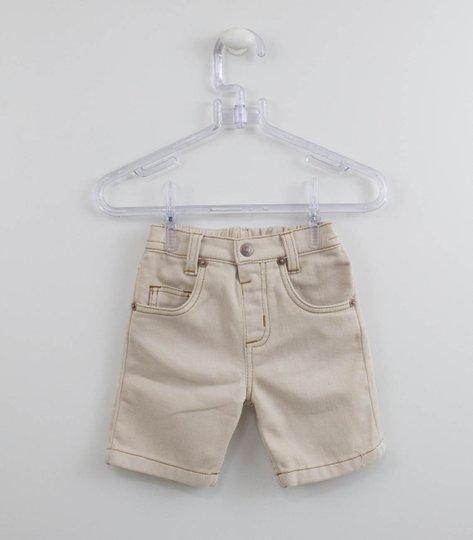 Bermuda Bege 1+1 Jeans Molecotton
