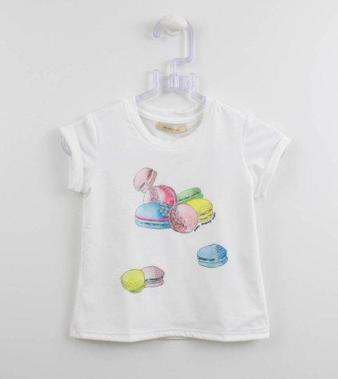 Blusa Malha 1+1 Style Baby Macarrons Coloridos