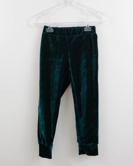 Calça Veludo Molhado Verde 1+1 Menina Style