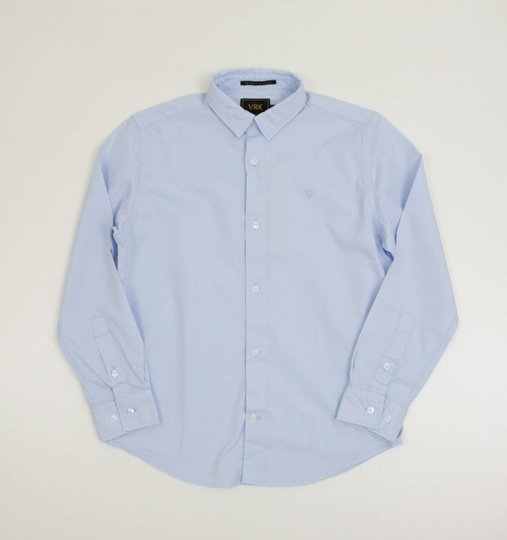 Camisa Azul Claro Manga Longa VRK Menino