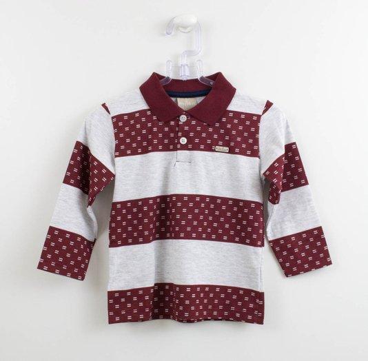 Camisa Polo Menino Milon Sinal Igual