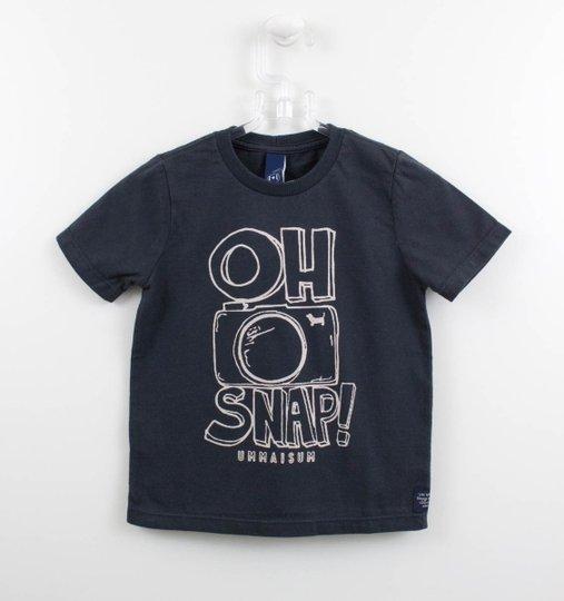 Camiseta 1+1 Style Baby Oh Snap Grafitte