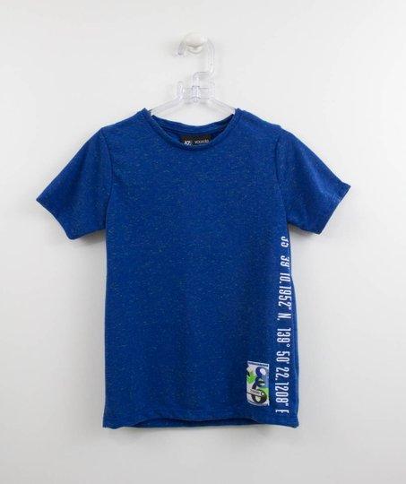 Camiseta Infantil Youccie Malha Diferenciada