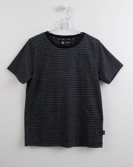 Camiseta Menino Youccie Malha Moline Listras