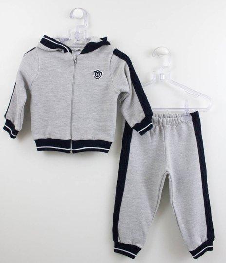 Conjunto Moletom Noruega Baby Lateral Tranças