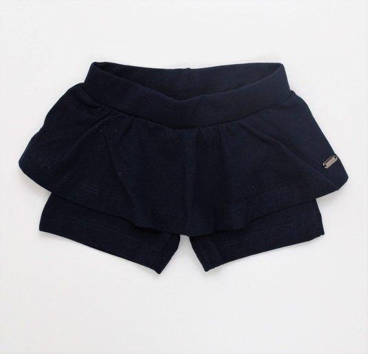 Shorts Saia Noruega Baby Cotton Lux Placa