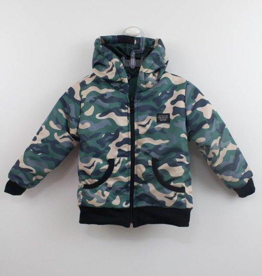 Jaqueta Militar Bebê Um mais Um