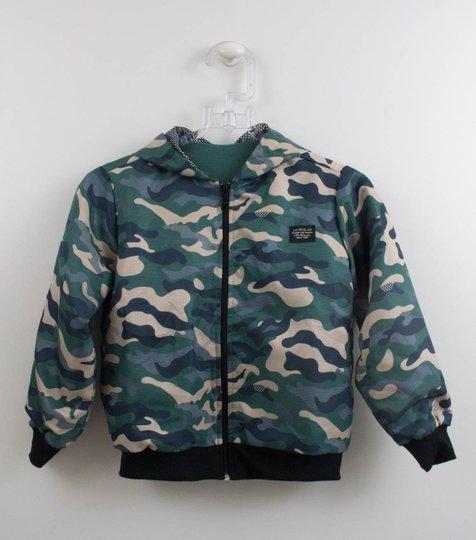 Jaqueta Militar Um mais Um Infantil