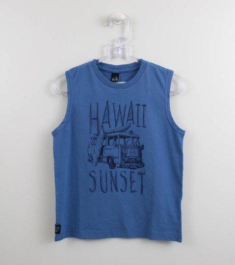 Regata Azul Hawaii Sunset 1+1 Menino