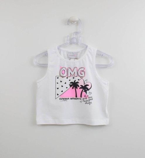 Regata Momi Infantil OMG Branca