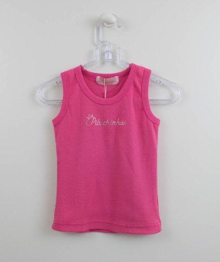 Regata Ribana Básica Pink Pituchinhus