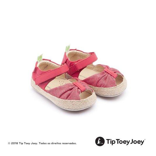 Sandália Bebê Tip Toey Joey Coasty Cranberry