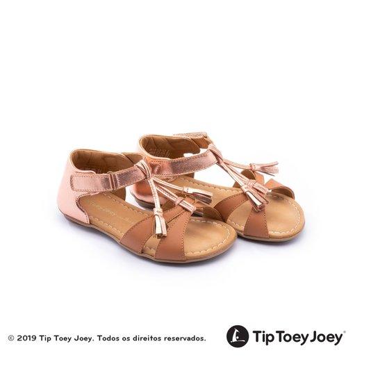 Sandália Little Joll Amendoim Tip Toey Joey