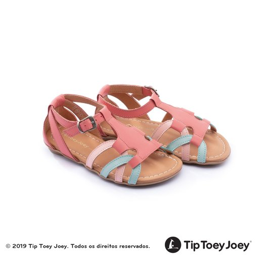 Sandália TipToey Joey Little Bambole Coral