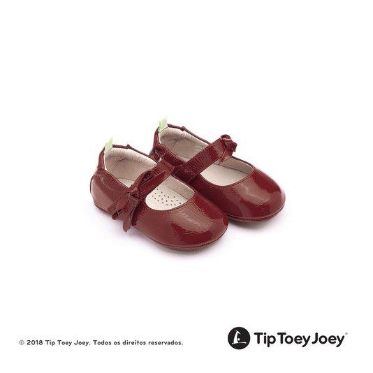 Sapatilha Baby Dorothy Tip Toey Joey Vermelha