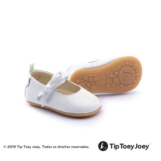 Sapatilha Dorothy Branca Tip Toey Joey