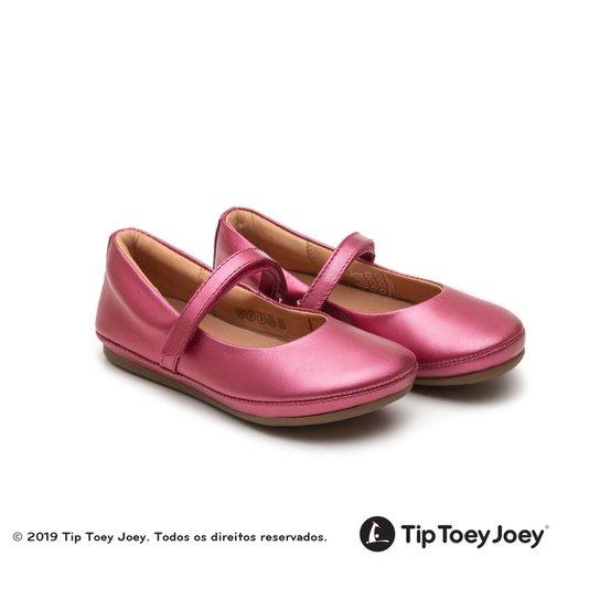 Sapatilha Fizz Fuchsia Shine Tip Toey Joey