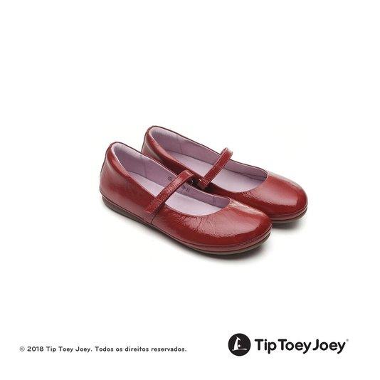 Sapatilha Vermellha Verniz Fizz Tip Toey Joey