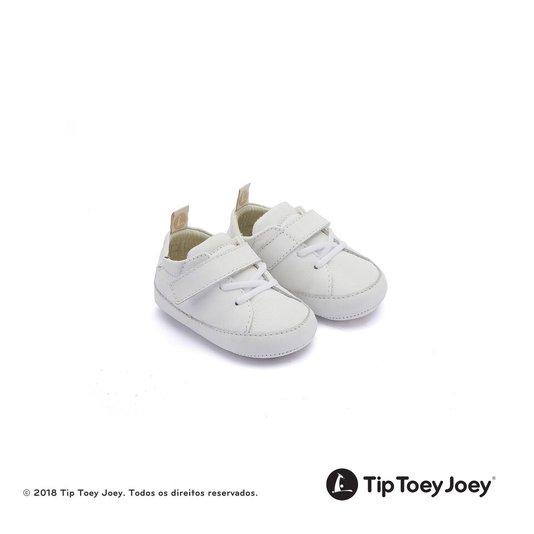 Sapatinho Baby Tip Toey Joey Tiny Light Branco