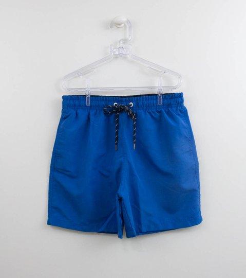 Shorts Banho Infantil Menino VRK Azul Bic