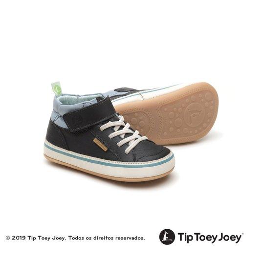 Tenis Botinha Bebê Tip Toey Joey Alley Tide Blue
