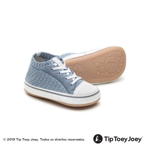 Tênis Botinha Tip Toey Joey Bebê Flexy Plutao Knit