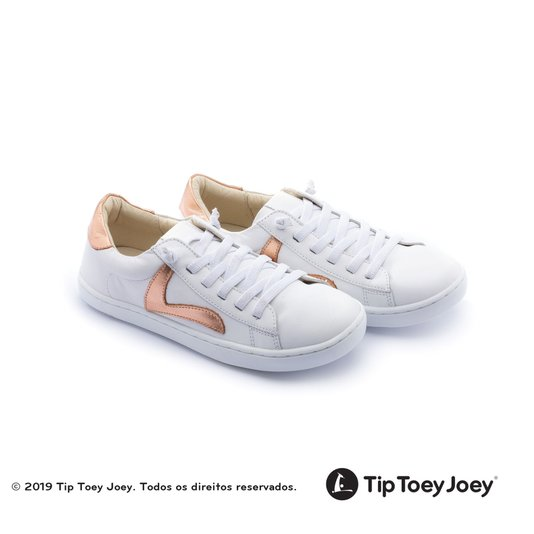 Tenis Skid Copper Shine Tip Toey Joey