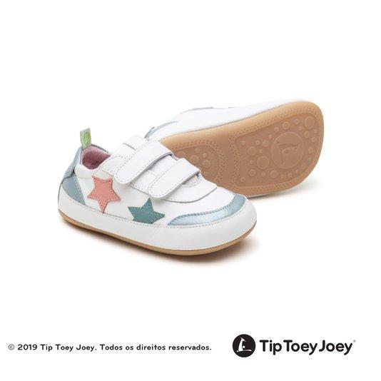 Tênis Tip Toey Joey Bebê Starry White