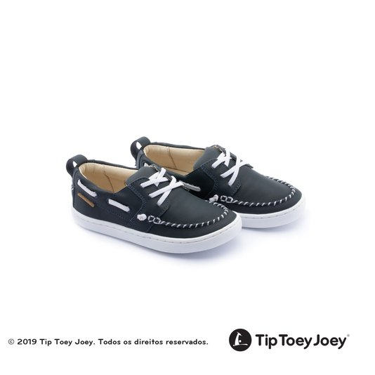 Tênis Tip Toey Joey Little Snap Navy Boys