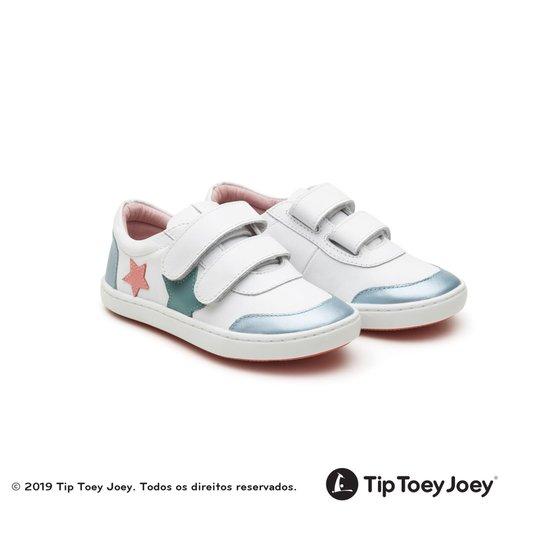 Tênis Tip Toey Joey Little Star White