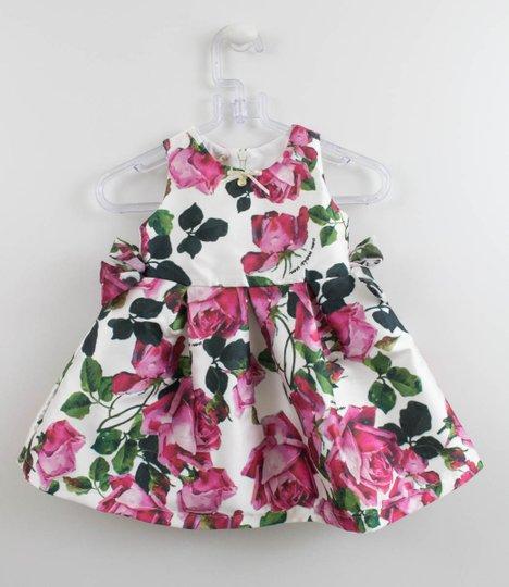 Vestido Festa 1+1 Baby Style Rosas
