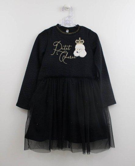 Vestido Puddle Preto Petit Cherie