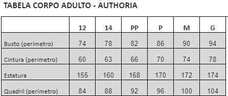 Blusa Authoria Preta Organza com Top