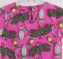 Blusa Pink Estampa Parque Tropical Momi Mini