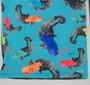 Blusa Proteção UV Siri Kids Lucca Estampa Camaleão Colorido