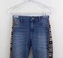Calça Jeans Skinny com Cadarço Authoria