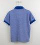 Camisa Polo VRK Malha Piquet Azul Bic