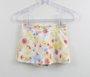 Conjunto Milon Mini Blusa Borboletas + Short Saia
