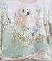 Conjunto Petit Cherrie Golden Blusa Manga Longa e Short