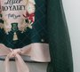Conjunto Royalty Verde Blusa e Saia Petit Cherie