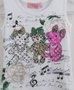 Regata Canelada Ursos e Flores Pituchinhus