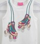 Regata Momi Mini Patins com Cristais