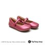 Sapatilha Little Twirl Fuchsia Shine Tip Toey Joey