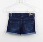 Short Jeans Molecotton Milon com Cristais