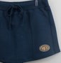 Short Saia Azul Petroleo Molecotton Authoria